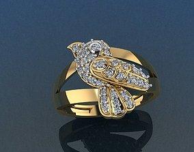 Bird Set Ring and Pendant 3D printable model