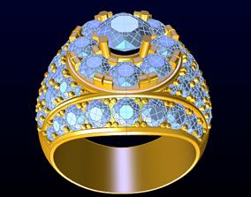 sapphire 3D print model DIAMOND JEWELLERY