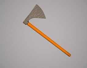 Axe - Low Poly 3D model