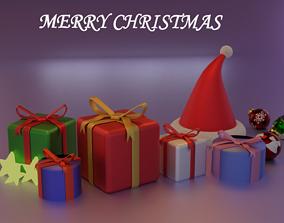 3D model Christmas Gift Pack