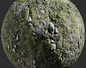 3D model Terrain - 8K CC0