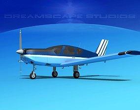 Socata TB-20 Trinidad V08 3D