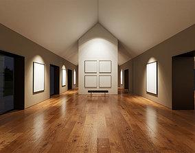 3D model Art Gallery UE4 001