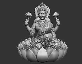 Laxmi Ji Bas Relief Version 2 3D printable model