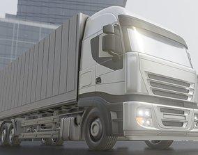 3D model Truck 2 High-Poly Version