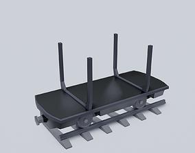 3D model Freight Wagon v5