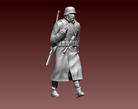 3D print model German soldier second