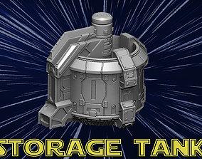 Storage tank 3D printable model