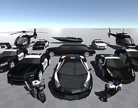 3D model Police Pack
