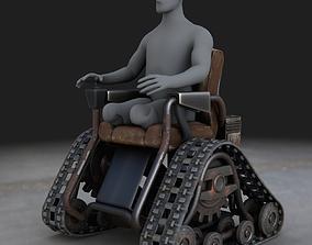 3D Wheelchair on Tracks