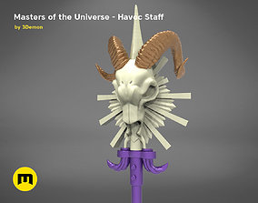 3D print model Masters of the Universe Havoc Staff