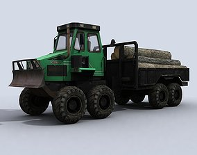 3D asset low-poly Forwarder