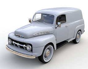 M-1 SERIES PANEL TRUCK 1951 3D model