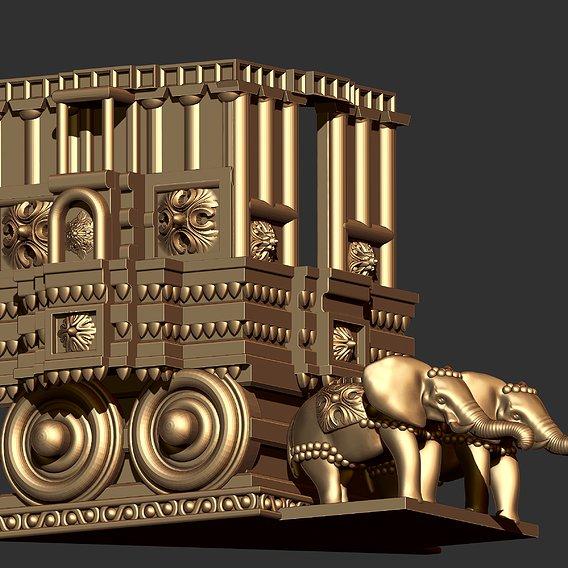 Antique Temple Pendant
