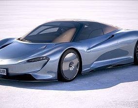 3D McLaren Speedtail 2020