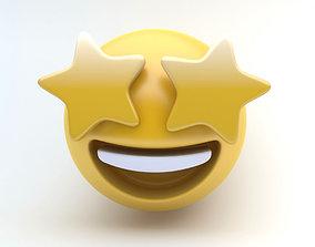 3D model EMOJI STARS