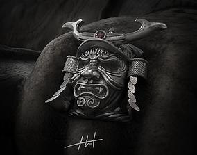 Ring Samurai mask 3D print model