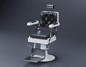 3D model barbershop Barber Chair