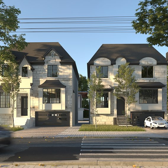 block 18+19 residential