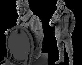 Tank Crew 35 120mm scale 3D print model