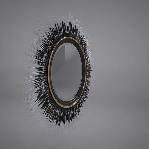porcupine-quill-mirror-3d-model-max-obj-