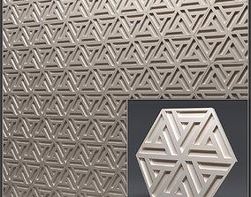 Gypsum 3D panel 3