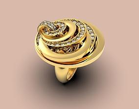 3D printable model De Grisogono Gypsy ring