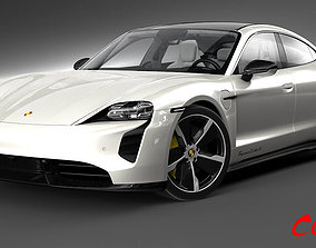 Porsche Taycan Turbo S 2020 taycan 3D