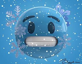 Emoji Cold 3D model