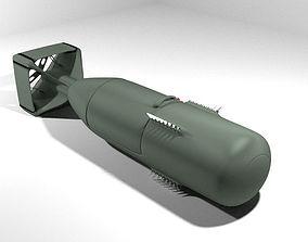 Atomic Bomb - Little Boy 3D