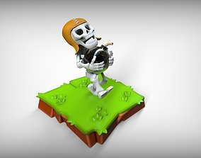 Wall Braker Clash of Clans 3D printable model