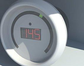 3D model Boost gauge