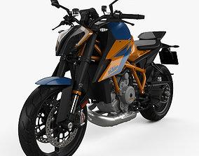 3D KTM 1290 Super Duke R 2020