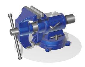 3D model Locksmith vise 2