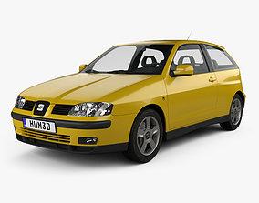 Seat Ibiza 3-door 1999 3D