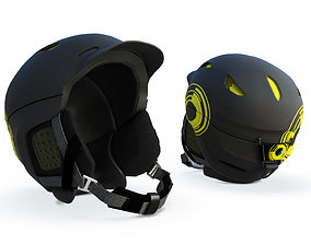 Ski Helmet 3D