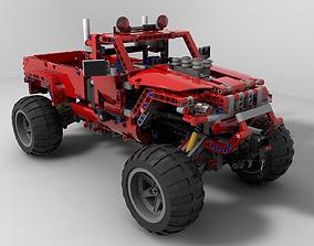 3D model Lego Jeep