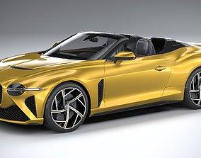 3D model Bentley Mulliner Bacalar 2021