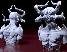 Demon horn 3D print model