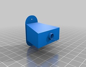 modular birdhouse 3D printable model