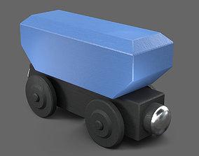 CAD Hopper Wagon 3D print model