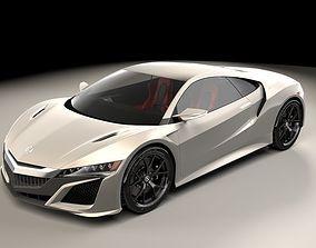 3D Acura NSX 2015