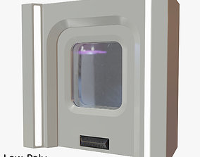 Sci Fi Door 01 3D asset