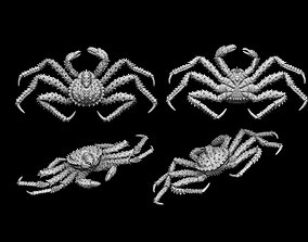 Crab king sculpture 3d print model