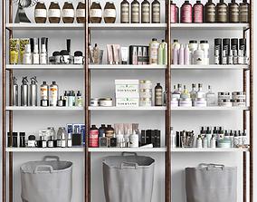 Cosmetic set on the shelves Beauty Salon 3D model