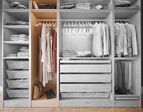 3D Wardrobe with Clothes part B