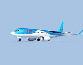 Boeing 737-800 Max TUI fly Deutschland 3D model
