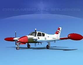 Cessna U-3B Blue Canoe V07 3D