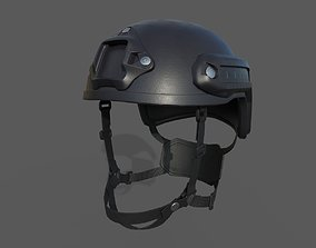 3D asset Military Helmet