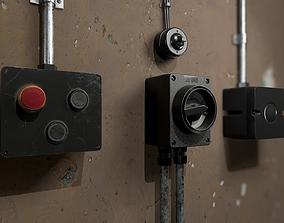 Electric System 3D asset
